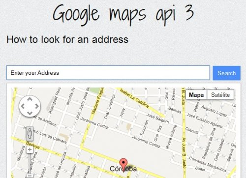 Google Maps APi 3 how to locate an address on the map with jQuery - GoogleMaps