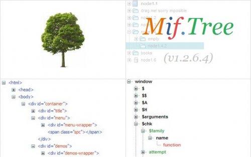 Mootoos Tree Menu-MootoolsTreeMenu