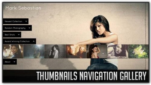 Thumbnails Navigation Gallery with jQuery. - Thumbnails-Navigation