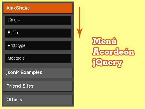 jQuery Accordion Menu - lksMenu