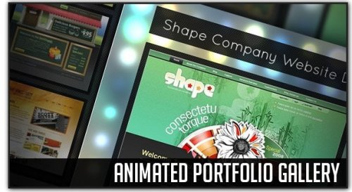 Galería animada para portfolio con jQuery-PortfolioGallery