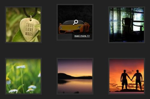 Amazing Thumbnail Hover Effect with Mootools - HoverEffect