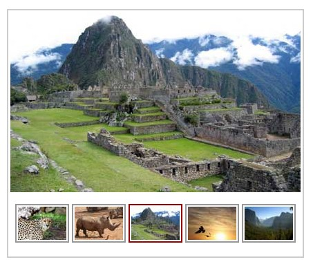 Javascript Image Slideshow-ImageGallery