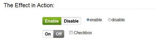 Botones radio y checkbox con estilo iphone usando jQuery y css-iPhoneStyle
