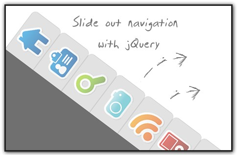 Incredible Slide Out Navigation using CSS and jQuery - SlideOutNav