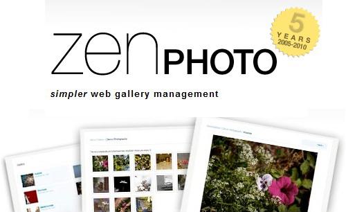 Software de Galería completa para manejar sus fotos-ZenPhoto