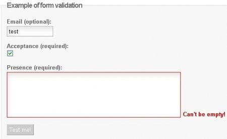 Javascript validation has just become self aware... - LiveValidation