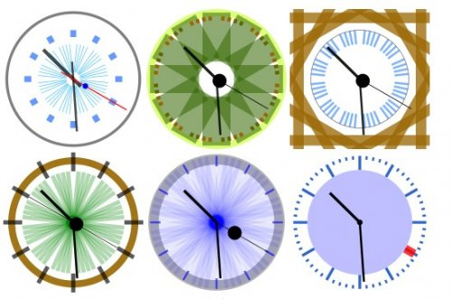 Analog clock in javascript - CoolClock