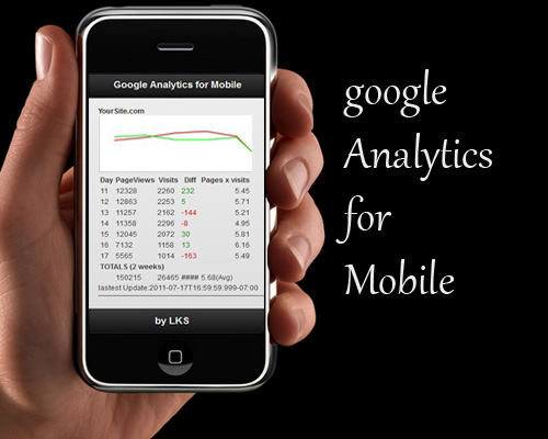 Google analytics for mobile devices with jQuery and PHP - GoogleAnalyticsMobile