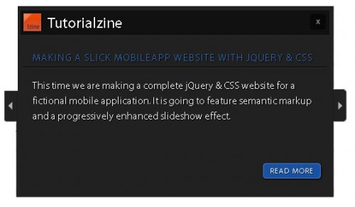Latest Post Blogroll Slider with jQuery and PHP - Blogroll