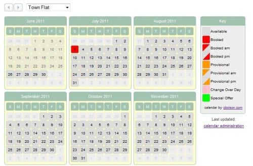 Mootools Calendar to show availability-AjaxAvailabilityCalendar