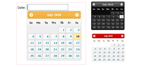 Free Datepicker jquery javascript for your webpages - jQuery UI Datepicker
