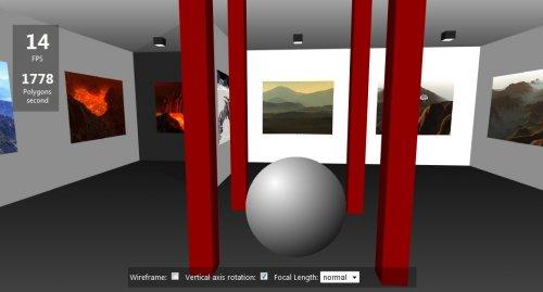 Galería de fotos 3d con jquery usando canvas-canvas-3d