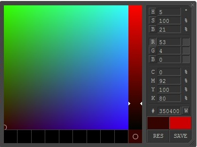 JavaScript ColorPicker - ColorPicker