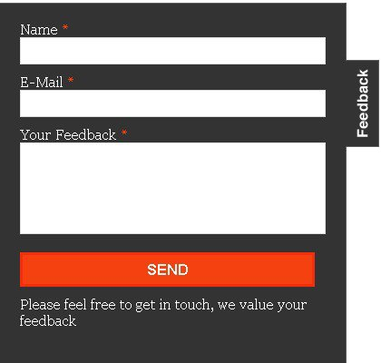 jQuery plugin designed to make contact/feedback forms simpler and more accessible. - Contactable