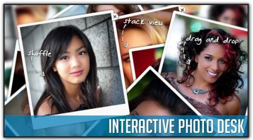 Create interactive Photo Desk with jQuery and CSS3 - PhotoDesk