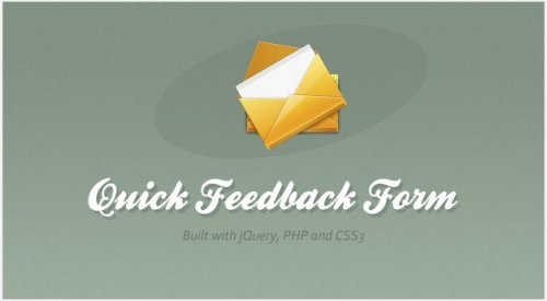 How to creaet a jQuery Feedback Form - FeedbackForm