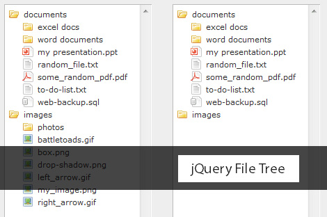 jQuery File Tree Directory plugin - jQueryFileTree