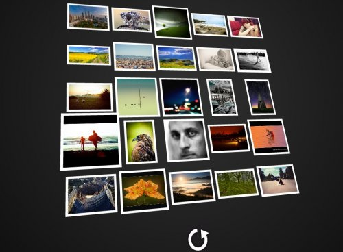 Download Flash 3d Gallery for free - SlimpleViewer