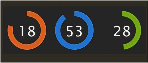 Create a Colorful Clock with CSS and jQuery - Colorful Clock