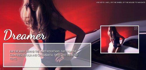 Galería de imagenes de pantalla completa con fotos miniatura-Full Gallery