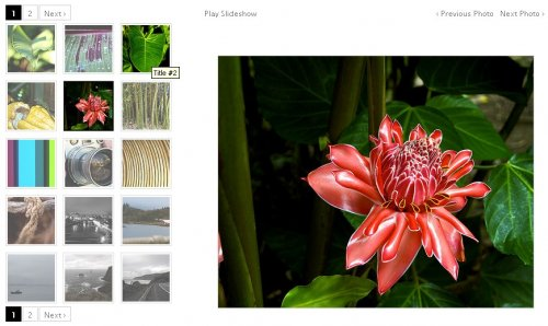 A jQuery plugin for rendering rich, fast-performing photo galleries - Galleriffic