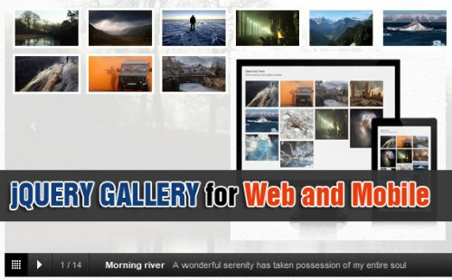 Simple jQuery image gallery for web and mobile - preserveGalleria