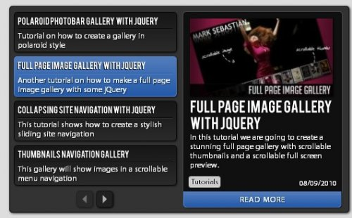 Compact News Previewer with jQuery - CompactNews