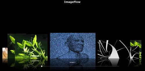 Picture gallery plugin which allows an intuitive image handling. - ImageFlow