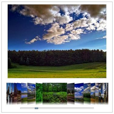 JavaScript image gallery with a nice effect like imageFlow - Slideflow