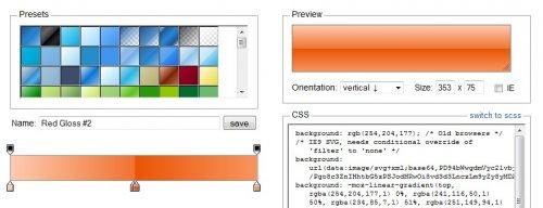 CSS3  Gradients  generator-GradientEditor