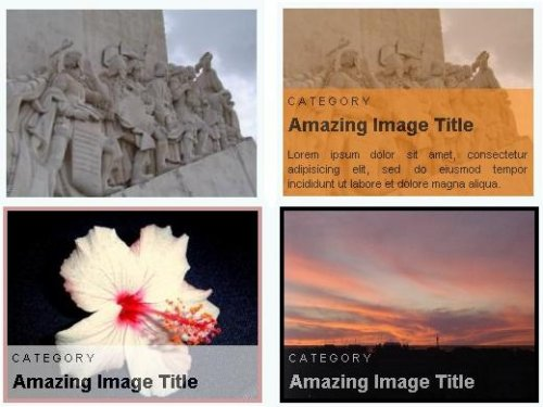 A jQuery Image Caption Plugin - jCapSlide
