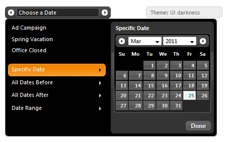 Calendario para seleccion de fechas javascript - DatePicker