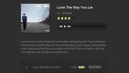 Music Player with HTML5 and jQuery - HTML5Player