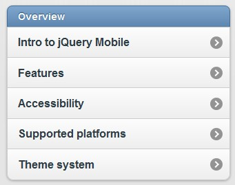 Framework that allows you to create a touch optimized web sites  for smartphones and tablets - jQueryMobile