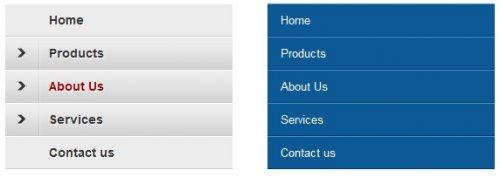 Ejemplo de menu con jQuery mobile-jQueryMobileExamples