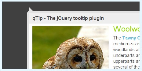 Advanced tooltip plugin for the jQuery JavaScript framework. - qTip