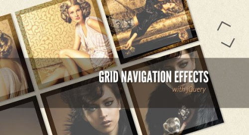 Grid Navigation Gallery using jQuery - GridNavigation