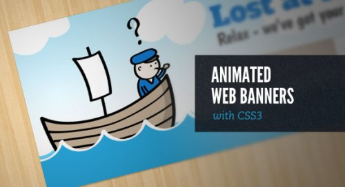Animated Web Banners With CSS3 - AnimatedBanners