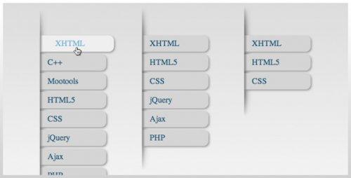 Css3 animated menu-css3Menu