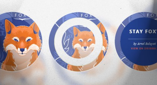 Circle effects with Css3 - CircleEffects