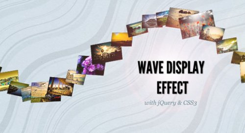 jQuery image Wave effect - WaveEffect