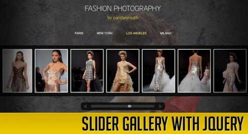 How to create a Slider Gallery with jQuery - SliderGallery