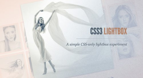 How to create a lightbox using CSS3 - css3Lightbox