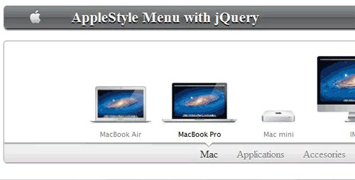 Animated Menu AppleSite Style - AppleMenu