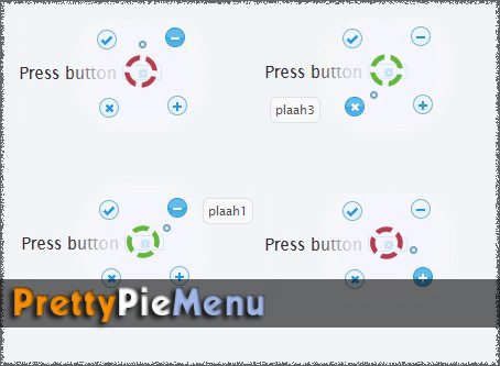 Animated contex Menu with jQuery - PrettyPie