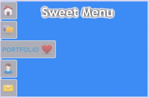 Convert an unordered list of links in a sweet menu with jQuery - SweetMenu
