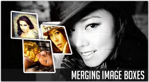 Merge box image gallery with jQuery - MergePhoto
