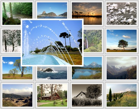 CSS Cross Browser Multi-Page Photograph Gallery - MultiPageGallery