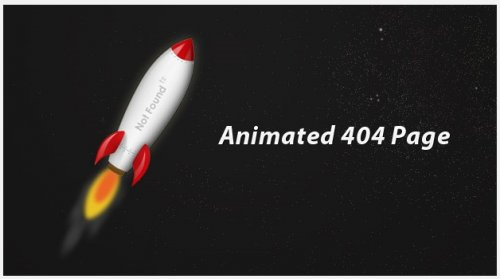Creating an Animated 404 Page with jQuery - 404Animated